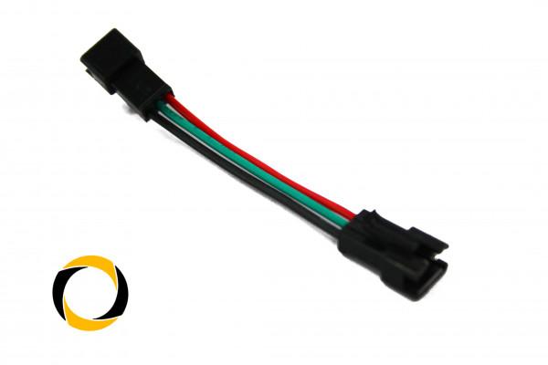 LED Adapterkabel Male/Male RGB 3-Pin