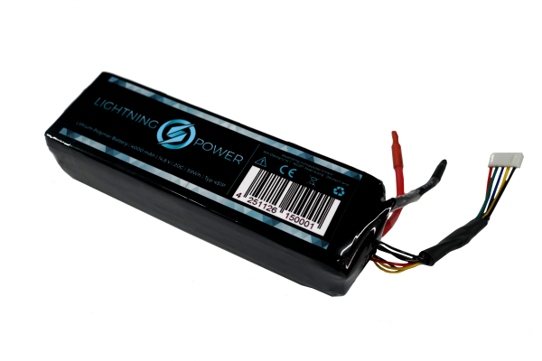 Lightning Power 4S1P 14,8V 4000mAh 20C/25C