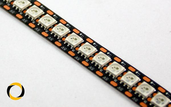 RGB LED stripe mit WS2813B LEDs (144 LEDs/m) 2m Rolle